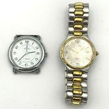 Suisse Longines Quartz Bracelet Atlantic Mécanique Vintage Montre Lot 2ps Pièces