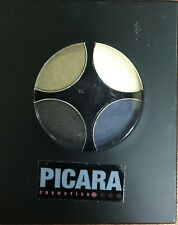 PICARA COSMETICS, EYE SHADOW QUAD, SMOKEY