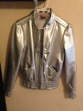 Silver Max Rave Motorcycle Jacket Juniors XS / S