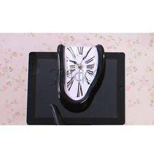 Shelf Clock Melting Clock homage to Salvador Dali Art Roman Numerals Design Time