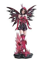 "12"" Inch Red Fairy with Baby Dragon Statue Figurine Figure Magic Fantasy"