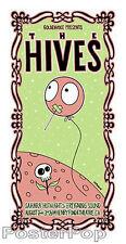 Tara McPherson The Hives 2004 Silkscreen Concert Poster Skullflower Signed Mint