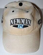 Alltel Newman #12 NASCAR Penske Racing Baseball Cap Hat New 1 Size Fits