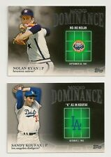 2012 Topps Series 2 Mound Dominance Set of 15