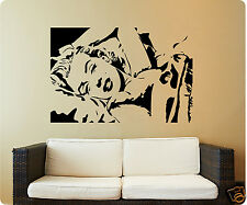 "36"" Marilyn Monroe Mural Picture Face Modern Wall Decal Sticker Quote Detailed"