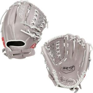 """Rawlings R9 12"""" Fastpitch Softball Glove Throws Right R9SB120FS-18G"""