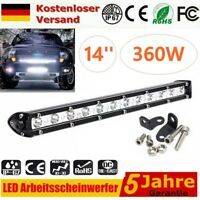 360W LED Fernscheinwerfer Arbeitsscheinwerfer 12V 24V PKW LKW SUV Auto Anhänger