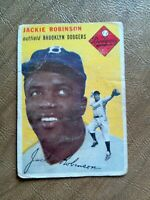1954 Topps Jackie Robinson #10 - Poor condition