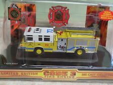 Pierce Code 3 Fire Engine Chesterfield County Virginia New