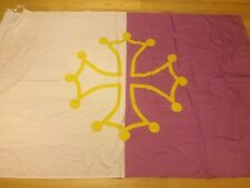DRAPEAU TFC Flag Bandiera Toulouse West Kop Ultras Toulousain