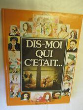 """Jacqueline Bruller,Colette Franc """"Dis-moi qui c'était..."""" /G.P. Rouge et Or 1979"""