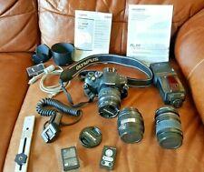 OLYMPUS E-410 DIGITAL SLR CAMERA, Olympus Electronic Flash FL-50 + accessories