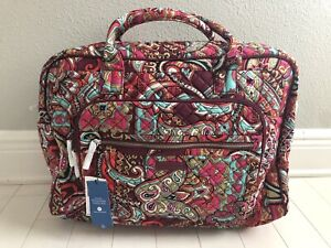 Vera Bradley Iconic Weekender Travel Bag REGAL PAISLEY New w/tags