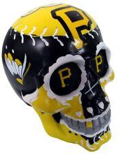 Pittsburgh Pirates Mlb Sugar Skull Resin Desk Ornament