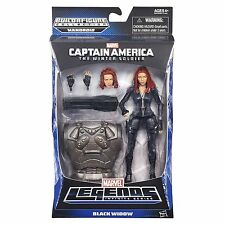 MARVEL LEGENDS- INFINITE SERIES- BLACK WIDOW- MANDROID BAF New In Box