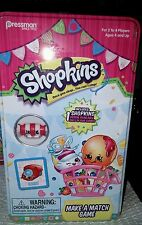 New newly released shopkins  matching game make a match vhtf  gift
