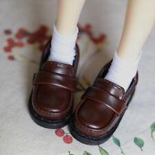 "1//3 BJD Brown Shoes Flats School For Female 1//3 24/"" doll AOD SD13 DK LUTS VOLKS"