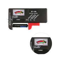 Universal Battery Tester AA /AAA /C/D/9V/1.5V/Button Cell Battery Checker