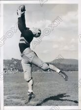 1939 West Point Army Cadets Football Halfback William Mullin Press Photo