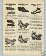 1927 PAPER AD US Keds High Top Basketball Shoes Royal Tread Comet Reach Football