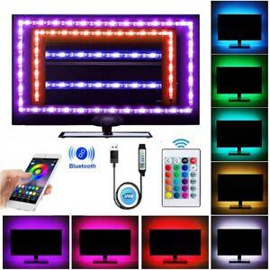 LED Strip Lights 3m Music Sync Bluetooth 24key Remote 5050 RGB TV Back lighting