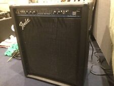 Used Fender BXR 200 PR286 Bass Guitar Amplifier w/ Footswitch
