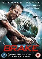 Brake  (DVD) (NEW AND SEALED) (REGION 2) (FREE POST)