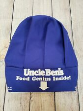 Vintage Deadstock 1980S Uncle Ben'S Cooking Food Genius Inside! Blue Chef Hat
