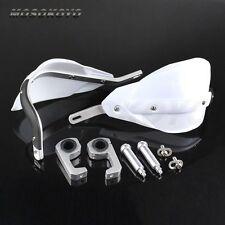 New 22mm 28mm Dirt Bike Motorcycle ATV Probend Alloy Bar Packs Handguards White