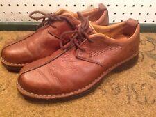 UGG Australia 5527 brown leather split toe oxfords Mens loafers 10.5 D shoes
