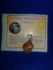 Zodiac Gemstone ARIES, Pendant Sign. Piedra del Signo Zodiacal .Religion