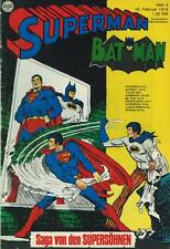 Superman 1974/ 4 (Z2, Sm), Ehapa