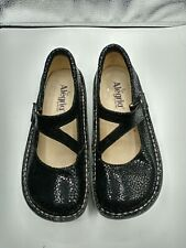 alegria womens shoes size 36 Black Mary Janes
