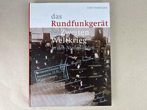 Das Rundfunkgerät im Zweiten Weltkrieg Niederlande Buch Gidi Verheijen Rarität