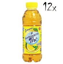 12x San benedetto Eistee Zitrone The' Limone  PET 50 cl  tea the erfrischend