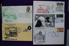 Salem Or stamp society Stampex Mimipex show cachet souvenir cover lot 1978-1991