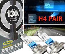 Ring 130% Brighter H4 TwinPack Super Bright upgrade Xenon headlight Bulbs RW3372