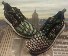 Nike iD Rosherun Flyknit Multi-Color Men's Size 10 Roshe Run 718293 993 New