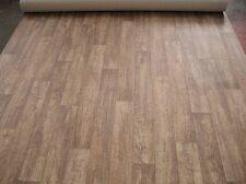 4657 PVC Belag Rest 440x200 Bodenbelag Eiche Holzdekor robuster Boden + Vlies