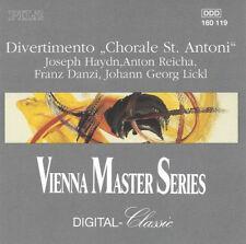 "Haydn - Divertimento ""Chorale St. Antoni"" CD (Pilz, 1990)"