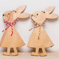 di pasqua grazioso coniglietto il legno dell'artigianato decorazioni di pasqua