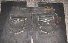 TRUE RELIGION JOEY FLARE DESTROYED JEANS sz 31 X 32 NEW With Tags AUTHENTIC