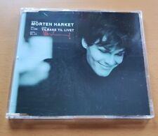Morten Harket | Voice of A-HA ★ Tilbake Til Livet ★ NORWAY ONLY PROMO CD 1996