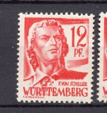 Wurttemberg 1948 Early Issue Fine Mint Hinged 12pf. NW-05567