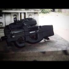 Tippmann A5 P90 w/ Egrip Electronic upgrade paintball gun marker ( black ops )