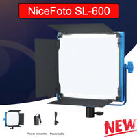 New NiceFoto SL-600 Photography Lighting LED Video Continuous Light for Studio