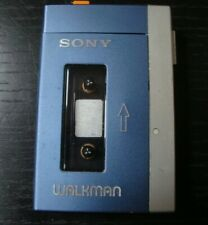 Sony Tpsl2 Walkman Cassette Player with Case for parts or coolness not working