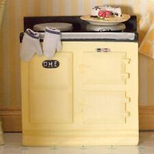 Dolls House Miniature 1:12th Scale Cream Aga-Style Stove