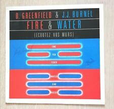 D Greenfield & J.J Burnel- Fire & Water Signed LP Record Sleeve. The Stranglers