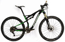 "19"" L STRADALLI 29ER CARBON FIBER DUAL SUSPENSION TRAIL MTB BIKE XTR GREEN BLACK"